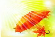 矢量秋季丰收季节素材