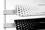 创意名片设计矢量模板