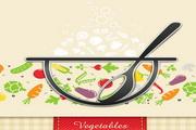 餐厅菜单创意矢量设计素材