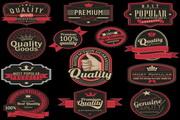 欧式标签设计矢量素材