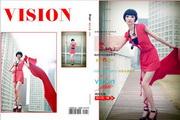 时尚女性写作相册封面PSD素材