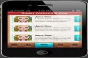 iPhone应用程序PSD模板
