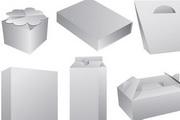 空白礼品包装盒手提袋EPS矢量素材