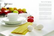 早餐美食psd画册设计