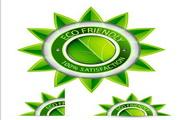 自然环保标签