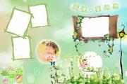 儿童摄影模板psd素材