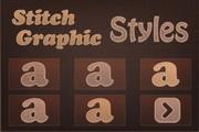 多质感字母矢量
