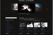 漂亮的企业网站div+css网页模板
