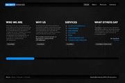 web2.0公司网站div+css网页模板