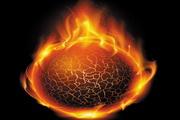 火焰创意图形矢量素材