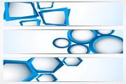 现代概念banner矢量素材