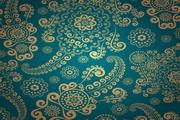 藏蓝色欧式典雅花纹背景EPS矢量素材