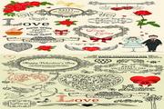 情人节花纹图案