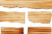 木板矢量设计素材