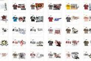 100款T恤设计素材CDR源文件 JPG图片