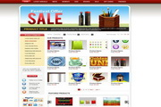 外国精美素材网站模板