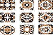 欧式古典花纹矢量素材3