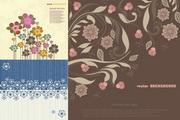 花卉图案背景