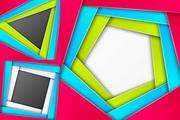几何形状边框