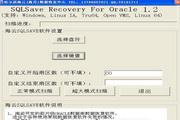 海云Oracle数据恢复软件 SQLSave Recovery For Oracle 1.2