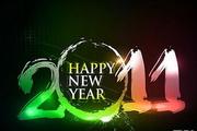 2011新年字体设...