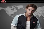 kappa品牌服饰网页psd模板