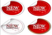 NEW标贴矢量设计素材