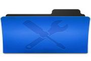 深蓝文件夹桌标下载