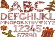 卡通英文字母矢量设计