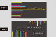 个性创意名片矢量设计素材