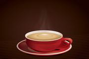 醇香咖啡矢量设计素材