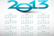2013创意日历模板