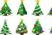 2011新年圣诞树eps矢量素材