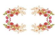 精美鲜花边框素材17