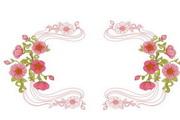 精美鲜花边框素材23