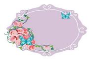精美鲜花边框素材29