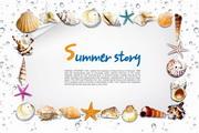 Summer海洋创意源文件设计