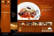 西餐厅美食网站设计PSD