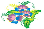 矢量花朵素材21