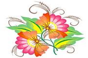 矢量花朵素材27