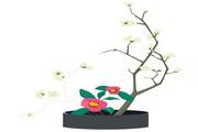矢量花朵素材64
