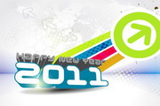 2011立体字创意设计EPS矢量素材