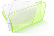 水晶文件夹桌面图标