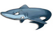 可爱鱼类动物图标下载