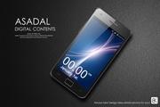 商务智能手机PSD海报设计