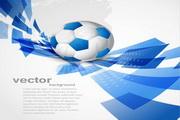 动感足球文本背景设计素材