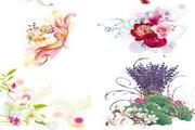 精美花朵矢量素材