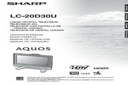 夏普LC-20D30U彩电使用说明书