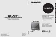 夏普LC-20E1U彩电使用说明书