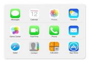 苹果iOS7系统图...
